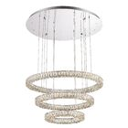Giancola Convertible 2-Light LED Crystal Pendant