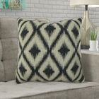 Mcmann Diamond Pattern Pillow Size: 16