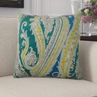 Edmiston Paisley Luxury Pillow Fill Material: H-allrgnc Polyfill, Size: 24