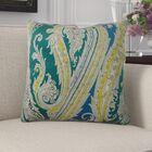 Edmiston Paisley Luxury Pillow Size: 18