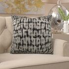 Frederick Luxury Metallic Pillow Size: 12