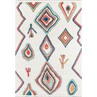 Hassett Ivory/Blue Area Rug Rug Size: Rectangle 7'6