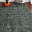 Hawkinson Wool Gray Area Rug Rug Size: Rectangle 2'6
