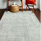 Hawkinson Wool Gray Area Rug Rug Size: Rectangle 5' x 7'6