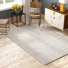 Alberta Hand Tufted Gray Area Rug  Rug Size: Square 6'