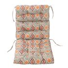 Tufted Indoor/Outdoor Patio High Back Lounge Chair Cushion