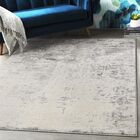 Hyacinth Modern Abstract Charcoal/Ivory Area Rug Rug Size: Rectangle 7'10