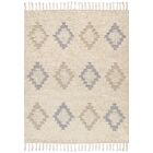 Santa Fe Hand-Woven Ivory Indoor Area Rug Rug Size: Rectangle 8' x 10'