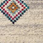 Wayne Moroccan Tribal Beige/Gray Area Rug Rug Size: Runner 2'3