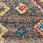 Wayne Moroccan Tribal Gray/Beige Area Rug Rug Size: Rectangle 5'3
