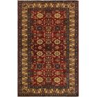 One-of-a-Kind Felicity Super Kazak Hand-Knotted Wool Red/Ivory Area Rug