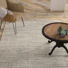 Alcott Natural Hand Loomed White Area Rug Rug Size: Rectangle 10' x 14'