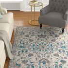 Innisbrook Traditional Vintage Distressed Scatter Blue Indoor/Outdoor Area Rug Rug Size: Rectangle 8' x 11'
