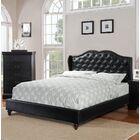 Audrey Upholstered Platform Bed Size: Full, Color: Black