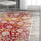 Hartl Originality Vintage Red/Orange Area Rug Rug Size: Rectangle 5'3