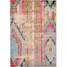 Newburyport Beige/Orange Area Rug Rug Size: Rectangle 6' x 9'