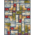 Aroma Blue Indoor/ Outdoor Area Rug Rug Size: Rectangle 8' x 11'