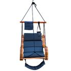 Lazy Daze Deluxe Chair Hammock Color: Navy Blue