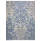 One-of-a-Kind Mitchel Turkish Knot Hand-Knotted Wool Blue Area Rug