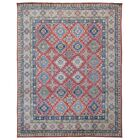 One-of-a-KindAbbotsford Oriental Hand-Knotted Wool Red/Green Area Rug