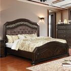 Robert Upholstered Panel Bed Size: California King