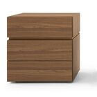 People 3 Drawer High Nightstand Size: 24.8