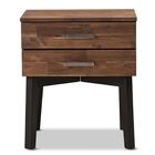 Pershing Modern 2 Drawer Nightstand