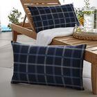 Khaleesi Indoor/Outdoor Lumbar Pillow Color: Blue