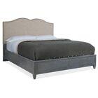 Hamilton Upholstered Panel Bed Size: King