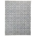 One-of-a-Kind Hollhurst Knot Oushak Oriental Hand-Knotted Gray Area Rug