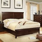 Crissyfield Panel Bed Size: Queen, Color: Brown Cherry