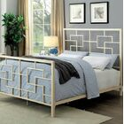 Payne Panel Bed Size: Euro King, Color: White