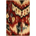 One-of-a-Kind Lutz Hand Knotted Wool Red/Ivory Area Rug