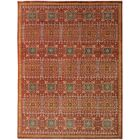 One-of-a-Kind Lyle Peshawar Hand Knotted Wool Brown/Rust Area Rug