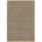 One-of-a-Kind Ciara Hand Knotted Wool Gray/Tan Area Rug
