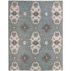 One-of-a-Kind Barbera Hand Knotted Wool Gray/Ivory Area Rug