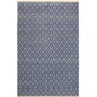One-of-a-Kind Marigold Hand Knotted Wool Light Blue/Ivory Area Rug