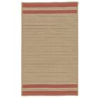 Kellie Stripe Hand-Braided Brick Red/Brown Indoor/Outdoor Area Rug Rug Size: Rectangle 2' x 4'
