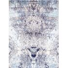 One-of-a-Kind Transitiona Hand-Knotted Blue Area Rug Rug Size: Rectangle 9' x 12'