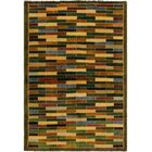 One-of-a-Kind Milo Hand-Knotted Wool Green/Blue Area Rug