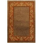 One-of-a-Kind Milo Hand-Knotted Wool Brown/Rust Area Rug