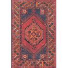Varian Red Area Rug Rug Size: Rectangle 7'6