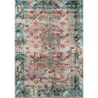 Laws Blue/Pink Area Rug Rug Size: Rectangle 5'3