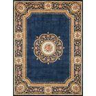 Laurel Hand-Tufted Wool Blue Area Rug Rug Size: Rectangle2'3