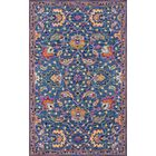 Lancaster Hand-Tufted Wool Blue Area Rug Rug Size: Rectangle 5' x 8'