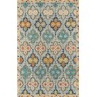Laughlin Hand-Tufted Wool Blue Area Rug Rug Size: Rectangle 9'6