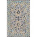 Pearl Hand-Tufted Wool Blue Area Rug Rug Size: Rectangle 5' x 8'