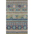 Laughlin Hand-Tufted Wool Blue Area Rug Rug Size: Rectangle 3'6