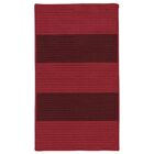 Javen Hand-Braided Red/Brown Indoor/Outdoor Area Rug Rug Size: Rectangle 7' x 9'