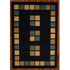 ClipperCove Square Blue/Beige Area Rug Rug Size: Rectangle 7' x 10'